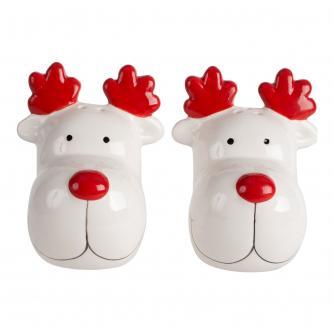 Rudolph the Reindeer Salt & Pepper Shakers