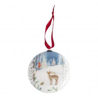 Reindeer Decoupage Bauble