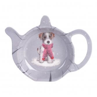 Winter Dog Tea Bag Tidy