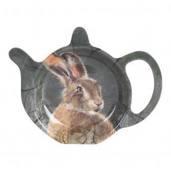 Winter Hare Tea Bag Tidy