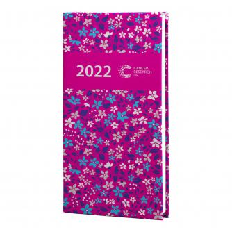 2022 Pocket Diary - Pink Ditsy Floral