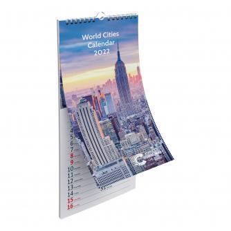 Cities of the World 2022 Calendar