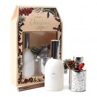 Electroplated Silver Diffuser and Room Spray Gift Set