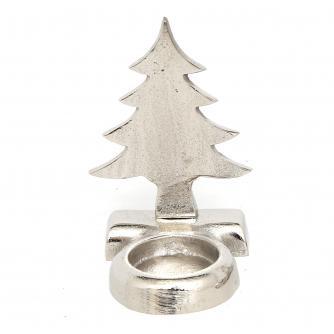 Aluminium Tealight Holder - Christmas Tree