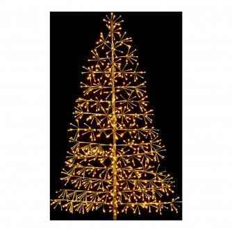 Premier 1.5m Gold Tree LED Light Decoration