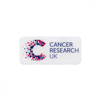 Cancer Research UK Pin Badge, Cancer Research UK