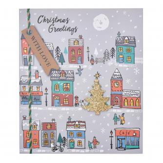 Christmas Town Christmas Cards - Pack of 6