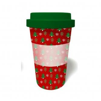 Christmas Tree Bamboo Travel Mug