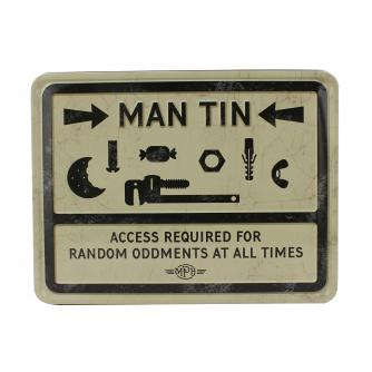 Cancer Research UK Online Shop, Father's Day Gifts, Random Oddments Man Tin