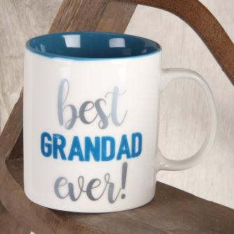 Cancer Research UK Online Shop, Father's Day Gifts, Best Grandad Ever Mug