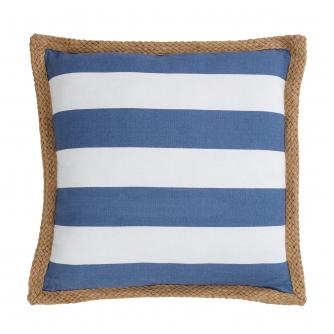 Blue Stripe Scatter Cushion