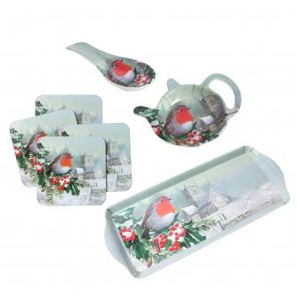 Winter Robin Kitchenware Bundle