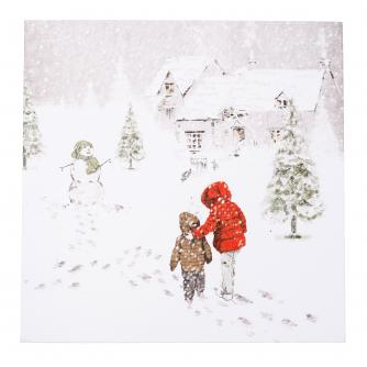 First Snowfall Christmas Cards - Pack of 10