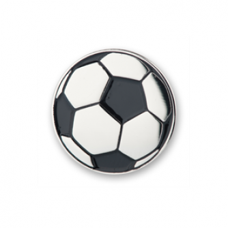 Football Pin Badge, Cancer Research UK