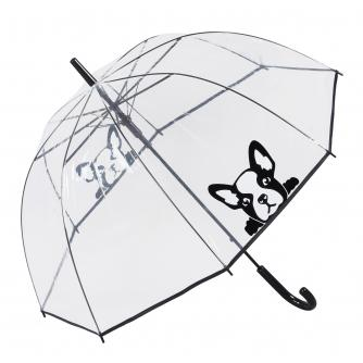 French Bull Dog Dome Umbrella