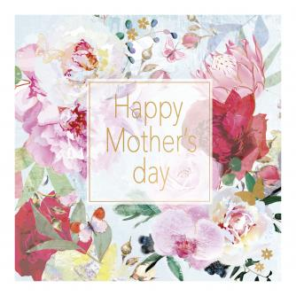 Soft Floral Mother's Day Greetings Card