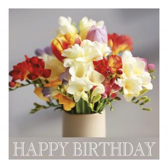 Birthday Bunch Birthday Card