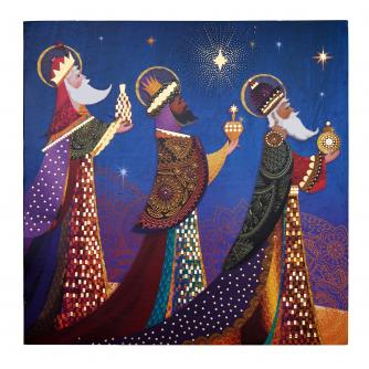 Gold, Frankincense & Myrrh Christmas Cards - Pack of 20