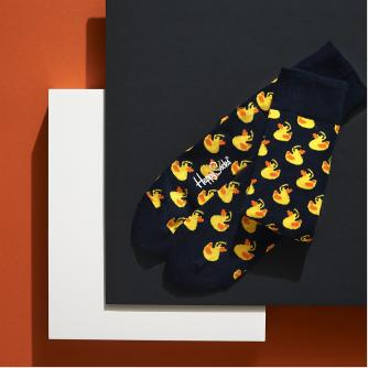 Happy Socks X Cancer Research UK 6 Month Sock Subscription