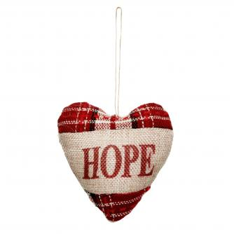 Hope Jute Heart Cancer Research UK Christmas Gift
