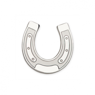 Horseshoe Pin Badge, Cancer Research UK