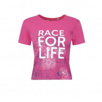 Race for Life Kids Floral T-shirt