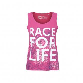 Race for Life Floral Vest