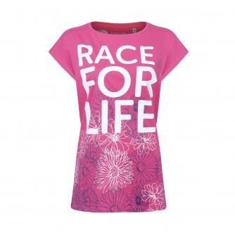 Race for Life Floral T-shirt, Sizes 8-16