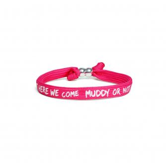 Pretty Muddy Wristband