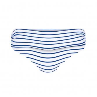 Amoena Kim Nautical Bikini Brief in White/Blue