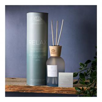 Serenity Relax Reed Diffuser - Rose, Cardamon & Pink Pepper