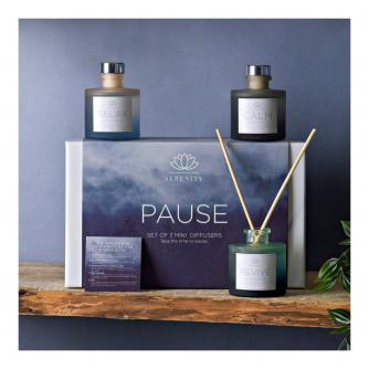 Serenity Pause Set of 3 Reed Diffusers