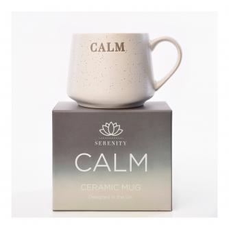 Serenity Debossed Mug - Calm