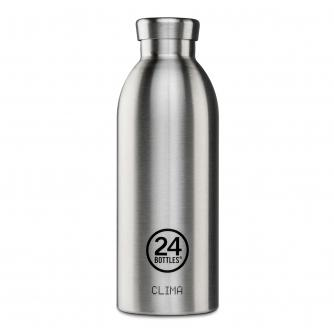 24 Bottles Clima Insulated Drinks Bottle in Steel