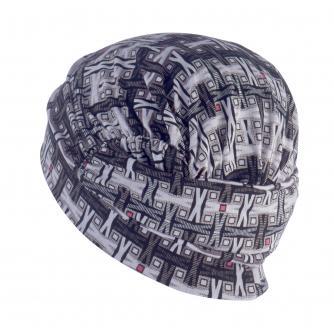 Hipheadwear Turban Cap in Geo X Print