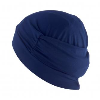 Hipheadwear Turban Cap in Navy