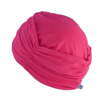 Hipheadwear Turban Cap in Hot Pink