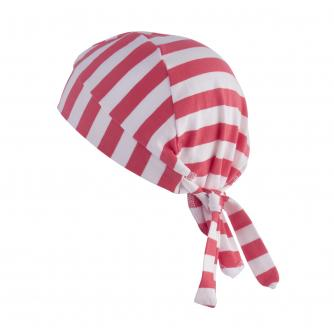 Hipheadwear Kids Bandana in Red/White Stripes