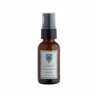 Lindi Skin Restoring Face Serum in Lavender