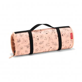 Reisenthel Cats and Dogs Rollup Organiser in Pink