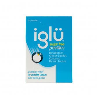Iglu Sugar free Sore Gum Relief Pastilles