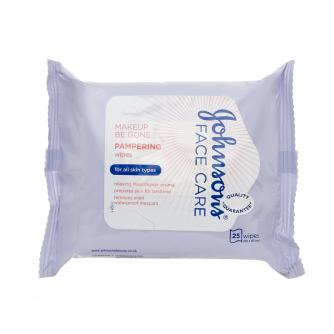 J&J Face Care Pampering Wipes