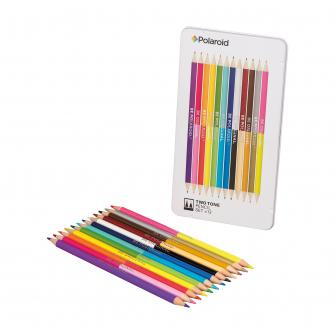 Two-Tone Spectrum Colouring Pencil Set