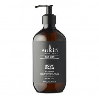 Sukin For Men Bodywash 500ml