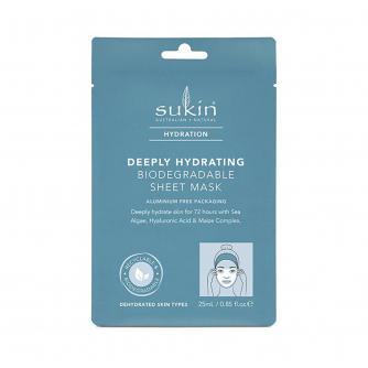 Sukin Hydration Deeply Hydrating Biodegradable Sheet Mask