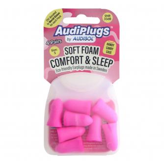 Audisol AudiPlugs Comfort & Sleep Ear Plugs 8 pack