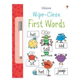 Usborne Wipe Clean First Words
