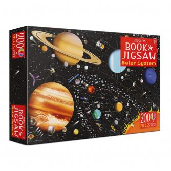 Usborne Book And Jigsaw: Solar System