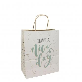 Eco Nature Sustainable Have a Nice Day Gift Bag