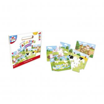 Farmyard 4-in-1 Puzzle Box
